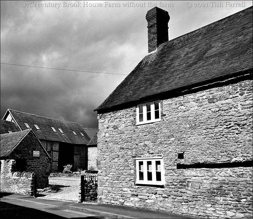 Brook House Farm 17th century last town farm